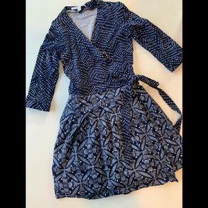 Diane Von Furstenber wrap dress